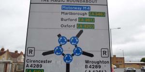 Magic Roundabout in Swindon