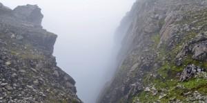Nebel im Abgrund