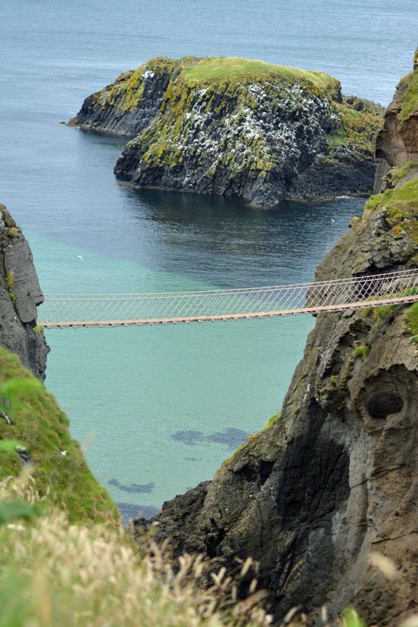 Hängebrücke in Nordirland