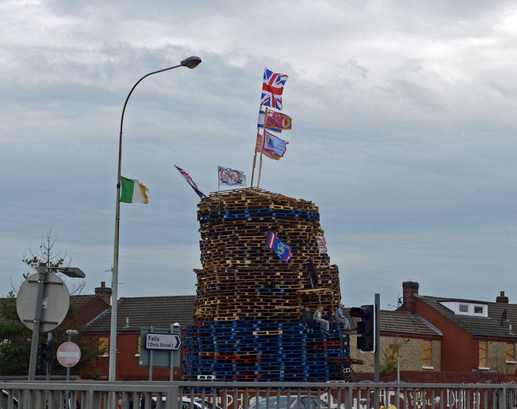 Demonstration in Belfast
