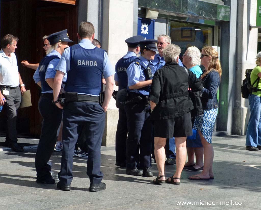 Festnahme in Dublin