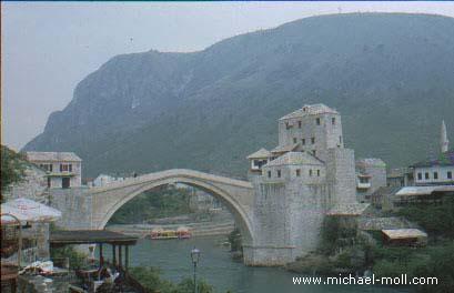 Brücke in Mostar