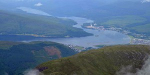 Ausblick vom Ben Nevis
