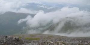 Auf dem höchsten Berg von Großbritannien