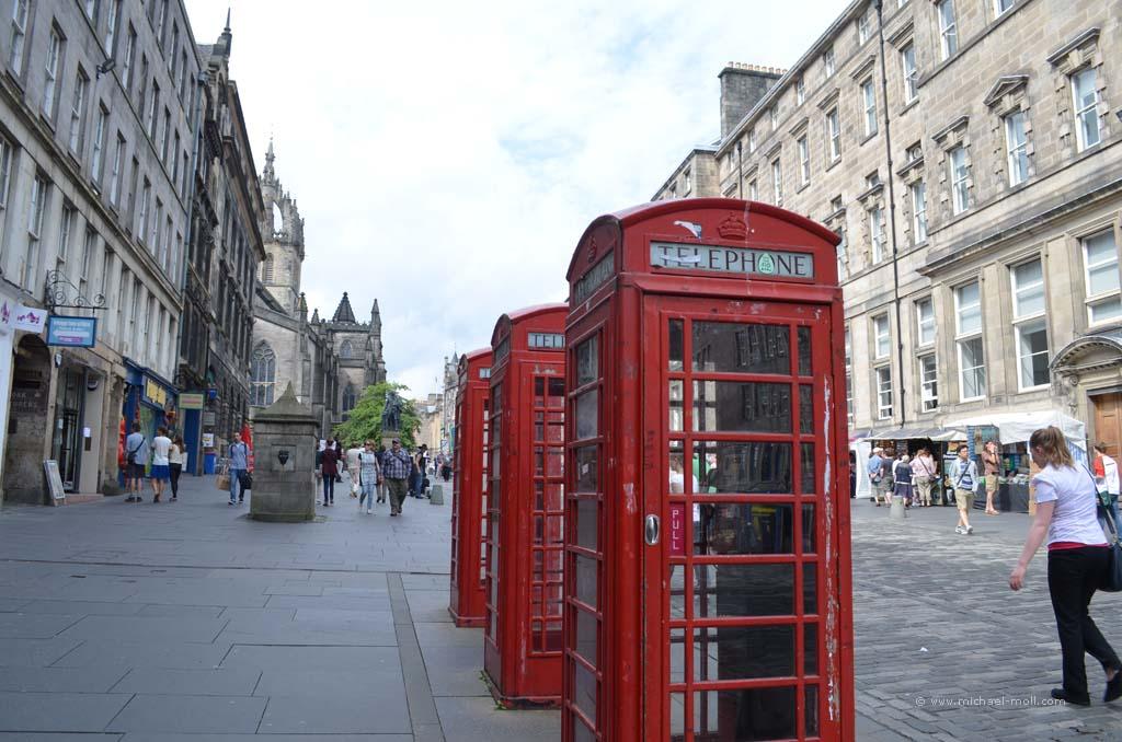 |Britische Telefonzellen