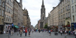 Zentrum von Edinburgh