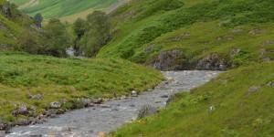 Fluss im Tal