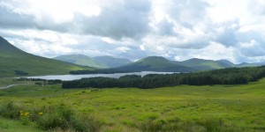 Durch die Highlands in Schottland
