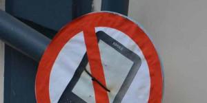 Kindles verboten