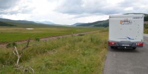 it dem Wohnmobil auf die Isle of Skye