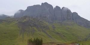 Berge am Old Man of Storr