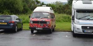 VW-Bus als Wohnmobil zur Miete