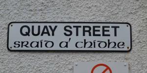 Straßenschild in Portree