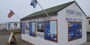 Hier können Fähren zu den Orkney-Inseln gebucht werden