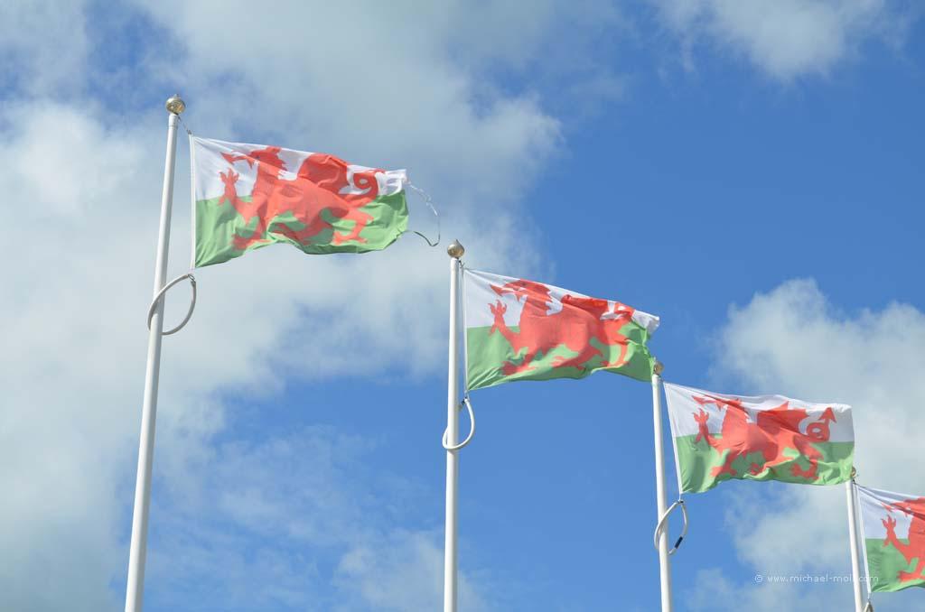 Flaggen von Wales