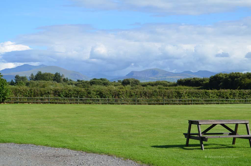 Blick auf den Snowdonia Nationalpark