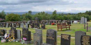 Friedhof in Lockerbie