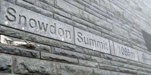 Gipfel des Snowdon