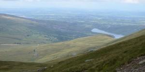Ausblick über Wales