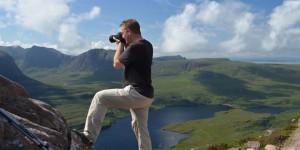 Michael Moll beim Fotografieren