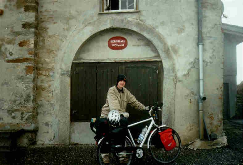 Radreise über die Alpen