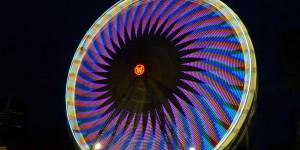 Riesenrad am Burgplatz