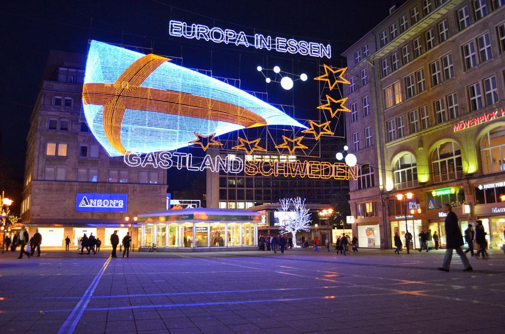 Willy Brandt Platz in Essen