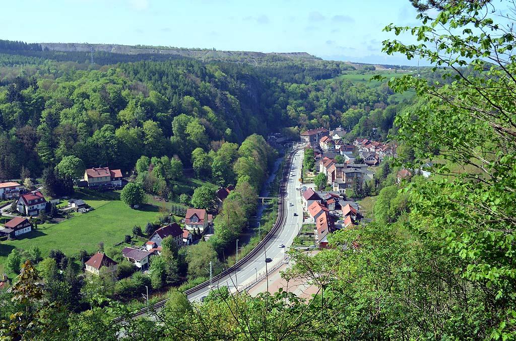 Blick auf Rübeland