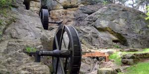 Wasserrad bei Blankenburg