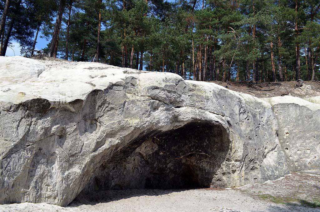 Naturdenkmal aus Sandstein