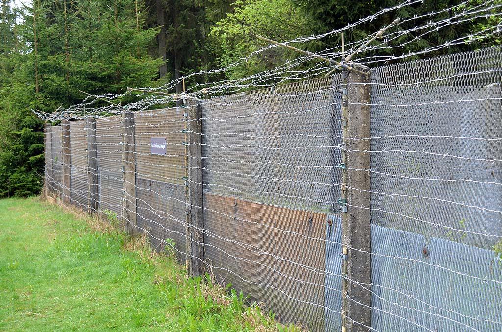 Ehemaliger DDR-Zaun