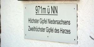 Höchster Berg in Niedersachsen