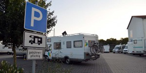 Wohnmobilstellplatz in Hameln