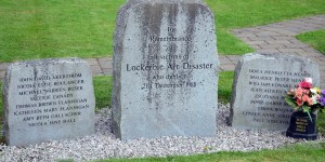 Gedenkstätte in Lockerbie