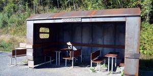 Picknickplatz an der Vennbahntrasse