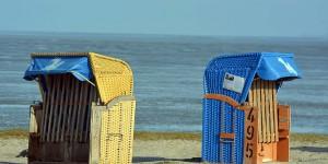 Strandkörbe in Harlesiel