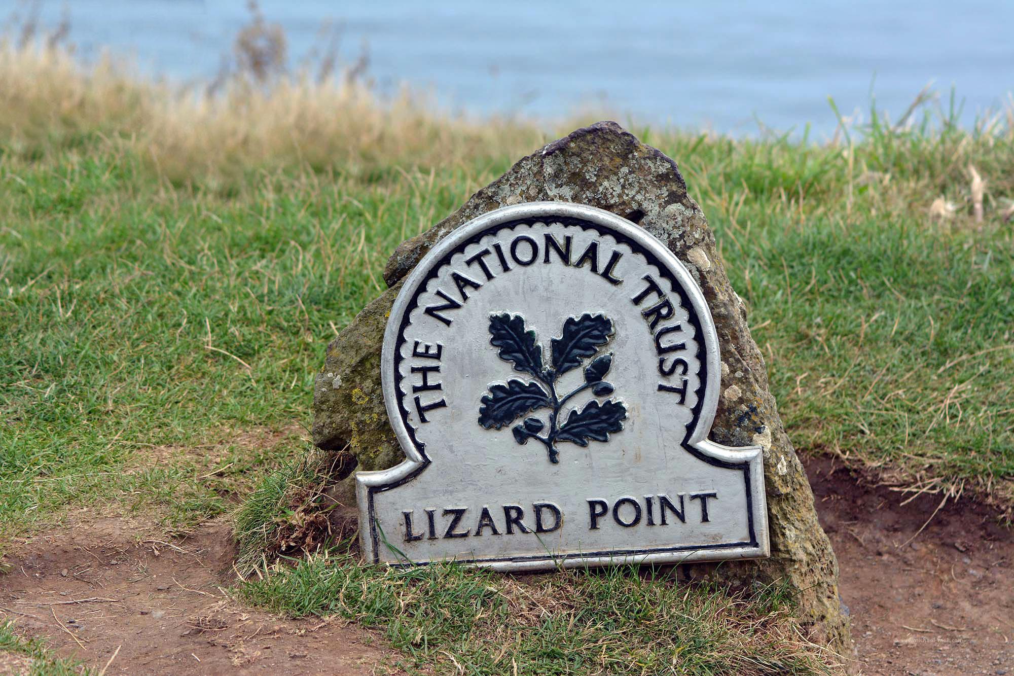National Trust am Lizard Point