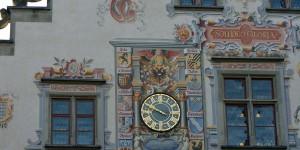 Wandfassade vom Rathaus