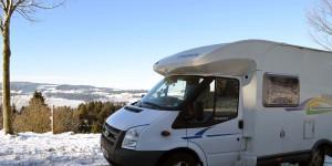Wohnmobiltour im Winter