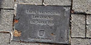 Erinnerung an die Stadt Sonthofen