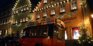 Weihnachtliches Rothenburg