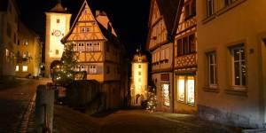 Rothenburg bei Nacht