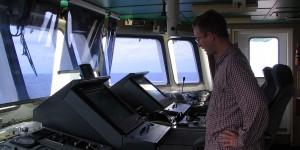 Michael Moll als Kapitän