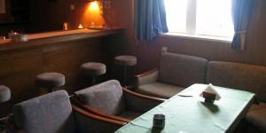 Bar des Frachtschiffs