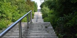 Treppe zum Tetraeder