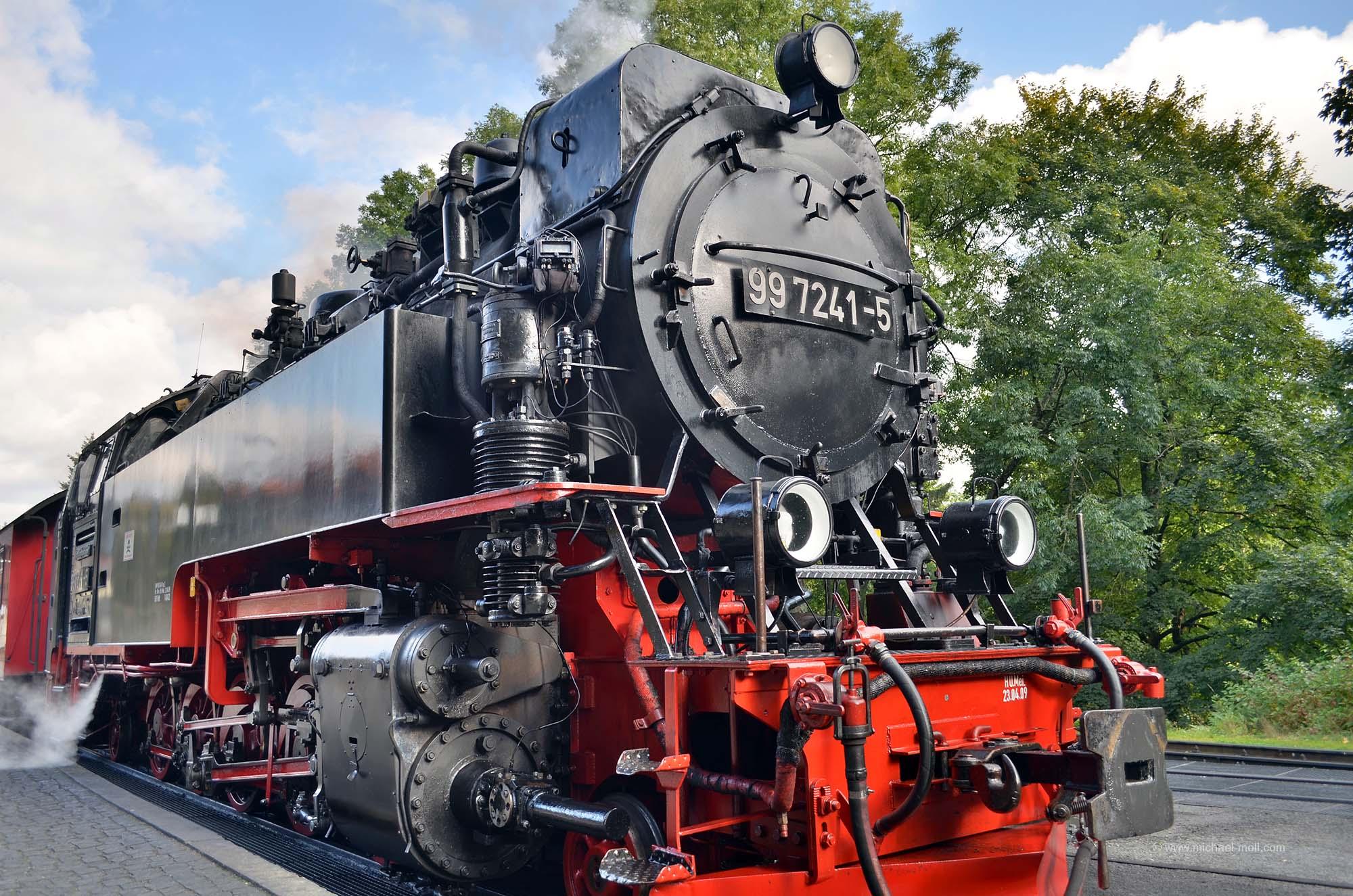 Lokomotive der Brockenbahn