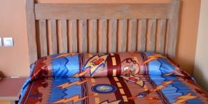 Bett im Hotel Santa Fe