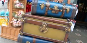 Koffer als Kulisse