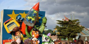 Parade mit Toy Story