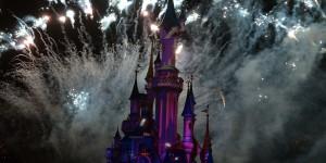 Feuerwerk bei Disney Dreams